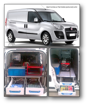 Reduct designed inspection vehicle